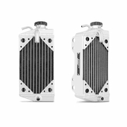 Honda CRF450R Braced Aluminum Dirt Bike Radiator, 2002-2004