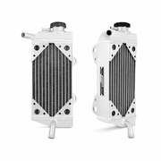 Honda CRF450R Braced Aluminum Dirt Bike Radiator, 2005-2008
