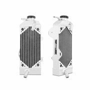 Honda CRF450R Braced Aluminum Dirt Bike Radiator, 2009-2012