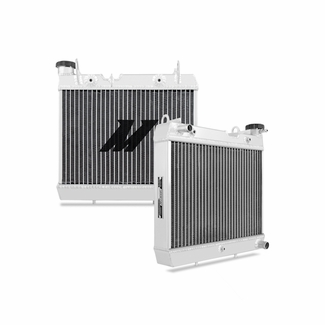Honda TRX450R Aluminum Radiator, 2004-2009 - Click to enlarge