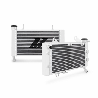 Kawasaki KFX400 Aluminum Radiator, 2003-2006 - Click to enlarge