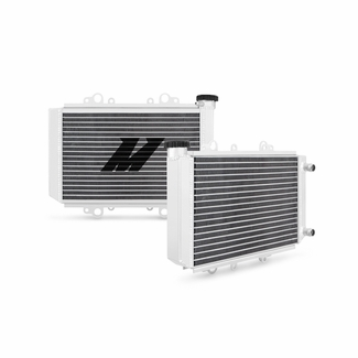 Kawasaki KFX450R Aluminum Radiator, 2008-2014 - Click to enlarge