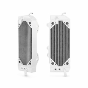 Kawasaki KX250F Braced Aluminum Dirt Bike Radiator, 2010-2014