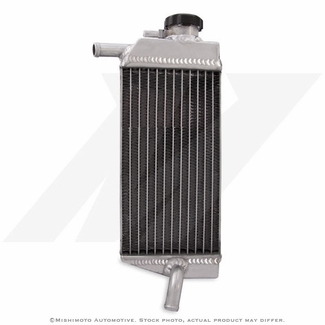 Kawasaki KX450F Aluminum Dirt Bike Radiator, 2006-2007 - Click to enlarge