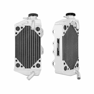 Kawasaki KX450F Braced Aluminum Dirt Bike Radiator, 2006-2007 - Click to enlarge