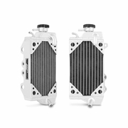 Kawasaki KX450F Braced Aluminum Dirt Bike Radiator, 2010-2012