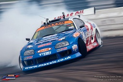 Lucas Oil UK Drift Team Supra
