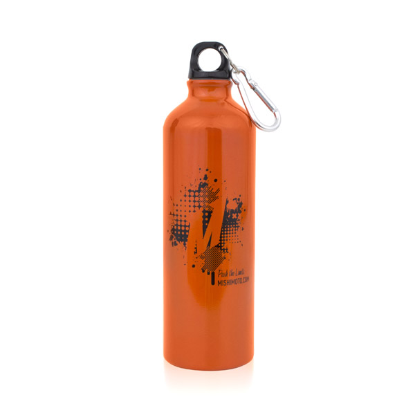 Orange Splat Design Water Bottle Splat Design