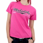 Mishimoto Women's Athletic Script T-Shirt, Pink