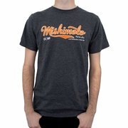 Mishimoto Men's Athletic Script T-Shirt, Gray