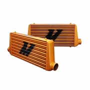 Mishimoto Universal Intercooler M-Line Eat Sleep Race Edition, Gold