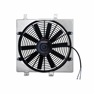 Mitsubishi Lancer Evolution 7/8/9 Performance Aluminum Fan Shroud Kit, 2001-2007 - Click to enlarge