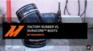 Pressure Test: Factory Rubber Boot VS. Mishimoto Duracore™ Boots