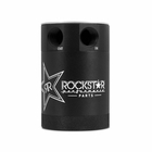 Rockstar® Compact Two-Port Baffled Oil Catch Can, Limited Edition