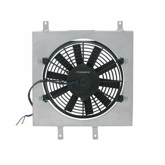 Scion xB Performance Aluminum Fan Shroud Kit, 2004-2007 - Click to enlarge