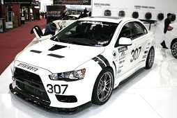 SEMA 2011 - 2010 Mitsubishi Lancer Evolution X MR