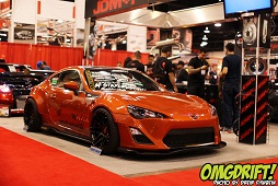 SEMA 2012 - Stay Crushing Scion FR-S