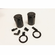 Subaru WRX Baffled Oil Catch Can Kit, 2008-2014 PRE-SALE