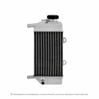 Suzuki RMZ450 Aluminum Dirt Bike Radiator, 2005-2007 - Click to enlarge