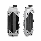 Suzuki RMZ450 Braced Aluminum Dirt Bike Radiator, 2005-2007