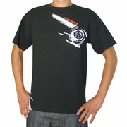 Temperature Gauge T-Shirt, Black