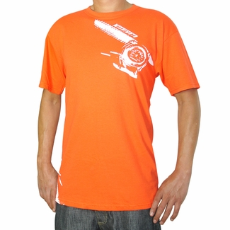 Temperature Gauge T-Shirt, Orange  - Click to enlarge