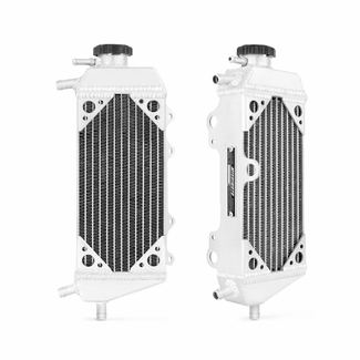 Yamaha YZ125 2 Stroke Braced Aluminum Radiator, 2005-2014 - Click to enlarge