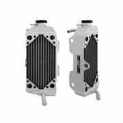Yamaha YZ450F/WR450F Braced Aluminum Dirt Bike Radiator, 2007-2009