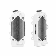 Yamaha YZ85 Braced Aluminum Dirt Bike Radiator, 2010-2013