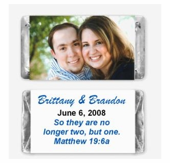 Photo Candy Bar Wrappers - candy bar wrappers - party favor