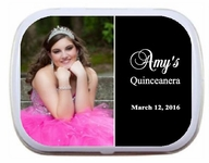 Quinceanera Photo Mint Tins