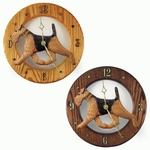 Airedale Wall Clock -Standard