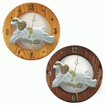 American Cocker Spaniel Wall Clock-Brown Parti