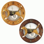 Beagle Wall Clock-Tri