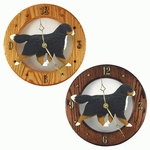 Bernese Mt. Dog Wall Clock-Standard