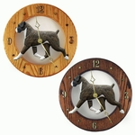Boxer (natural) Wall Clock-Brindle