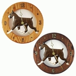 Boxer Wall Clock-Brindle