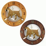 Boxer Wall Clock-Fawn