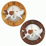 Cavalier King Charles Spaniel Wall Clock-Blenheim