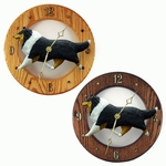 Collie Wall Clock-Tri