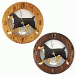 Entlebucher Mt. Dog Wall Clock-Standard