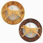 Labrador Retriever Wall Clock-Yellow