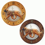 Leonberger Wall Clock-Standard