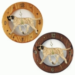 Mastiff Wall Clock-Fawn Brindle