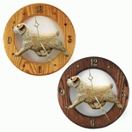 Norfolk Terrier Wall Clock-Wheaten
