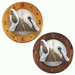 Shih Tzu Wall Clock-Brown-White