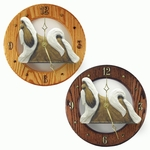 Shih Tzu Wall Clock-Gold-White