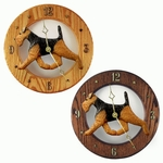 Welsh Terrier Wall Clock-Standard