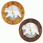 West Highland Terrier Wall Clock-Standard