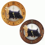 Yorkshire Terrier Wall Clock-Standard
